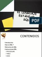 003-1 El Lenguaje Estandar SQL - InSTRUCIONES DDL (Completo)