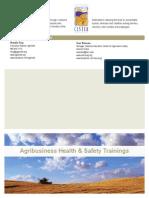 Agribusiness Trainings Brochure