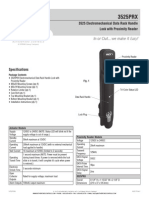 Rutherford 3525PRX Instruction Manual