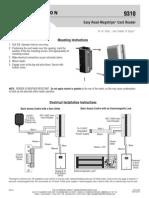 Rutherford 9310MRK6 Instruction Manual