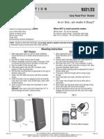 Rutherford 9321SPB Instruction Manual
