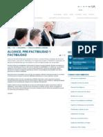 Alcance, Pre-factibilidad y Factibilidad - RungePincockMinarco