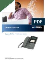 Manual Telefone 7187a