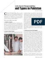 CSR Trends and Types in Pakistan