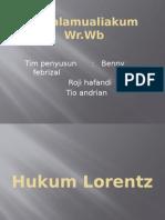Hukum Lorentz