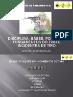 BASES, POSIÇÕES E FUNDAMENTOS DO TIRO