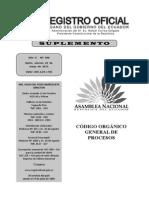 Código Orgánico General de Procesos