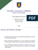 Archivo Unidad II Método Símplex