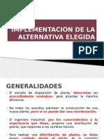 Implementacion de La Alternativa Elegida (1)