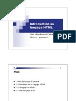 Présentation HTML