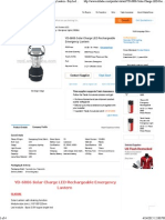Yd-6806 Solar Charge Led Rechargeable Emergency Lantern - Buy Led Emergency Lantern,Solar Charge Led Rechargeable Lantern,63pcs Led Rechargeable Lante