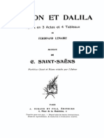 Samson Et Dalila - SaintSaens - CORO
