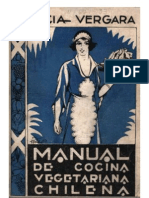 Vergara Lucia - Manual De Cocina Vegetariana Chilena (1931)