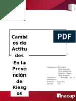 Informe Cambios de Actitudes y Lopez Mena