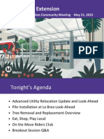 Purple Line Extension Construction Community Meeting