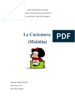 La Caricatura (Mafalda)