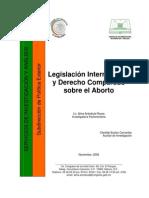 Legislación Internacional y Derecho Comparado sobre el Aborto
