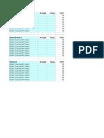 12 Week Periodization Program Generator