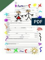 Ficha-personal Para Niños