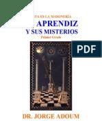 Adoum, Jorge - El Aprendiz y Sus Misterios