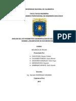 Análisis de Los Parámetros Geomorfológicos de La Subcuenca Rio Grande y Delimitación de Sus Microcuencas