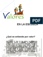 losvaloresensecundaria-130420101633-phpapp01