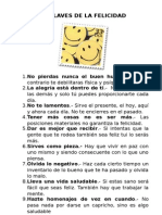 10 Claves de La Felicidad