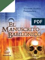El Manuscrito Babilonico - Vicente Rubio Fernandez