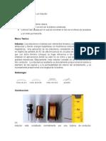 Construcción de un inductor