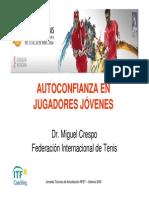 Miguel Crespo - Autoconfianza en Jugadores Jovenes