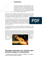 Recursos Geotermicos de Nicaragua