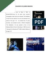 Biography of James Brown
