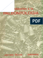 Introduccion a La Paleontologia - James Scott