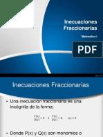Ecuaciones Fraccionarias