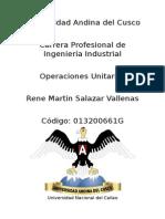 Operaciones Unitarias Universidad Callao