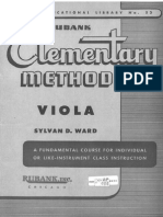 RUBANK Viola Method Elementary