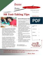 February 10 TOSA Newsletter