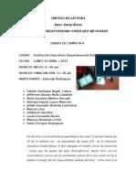 Diarios de Campo Actividades Circulos de Lectura 4, 5, 6.