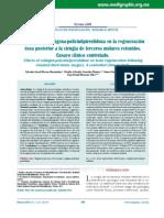 Efectos de la colágena-polivinilpirrolidona en la regeneración ósea posterior a la cirugía de terceros molares retenidos. Ensayo clínico controlado