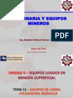 Máquina y Equipo Minero_Tema_11