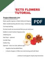 3d Effects Flowers Tutorial