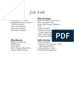1. Job Aids Index