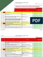 Herramienta de DiagnosticoISO 9001 2008