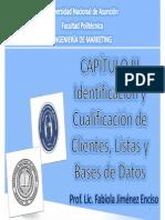 Capítulo 3. Listas y Bases de Datos