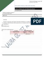 Informe de la Obtención de Dibenzalacetona Reporte