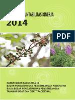 Laporan Akuntabilitas Kinerja B2P2TOOT 2014