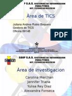 Presentaciones de Las Areas