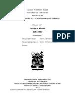 Laporan Praktikum KI2221 Elektrogravimetri (Hasnatul Khaira)