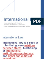 International Law May 22