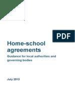 Home-school Agreement Guidance